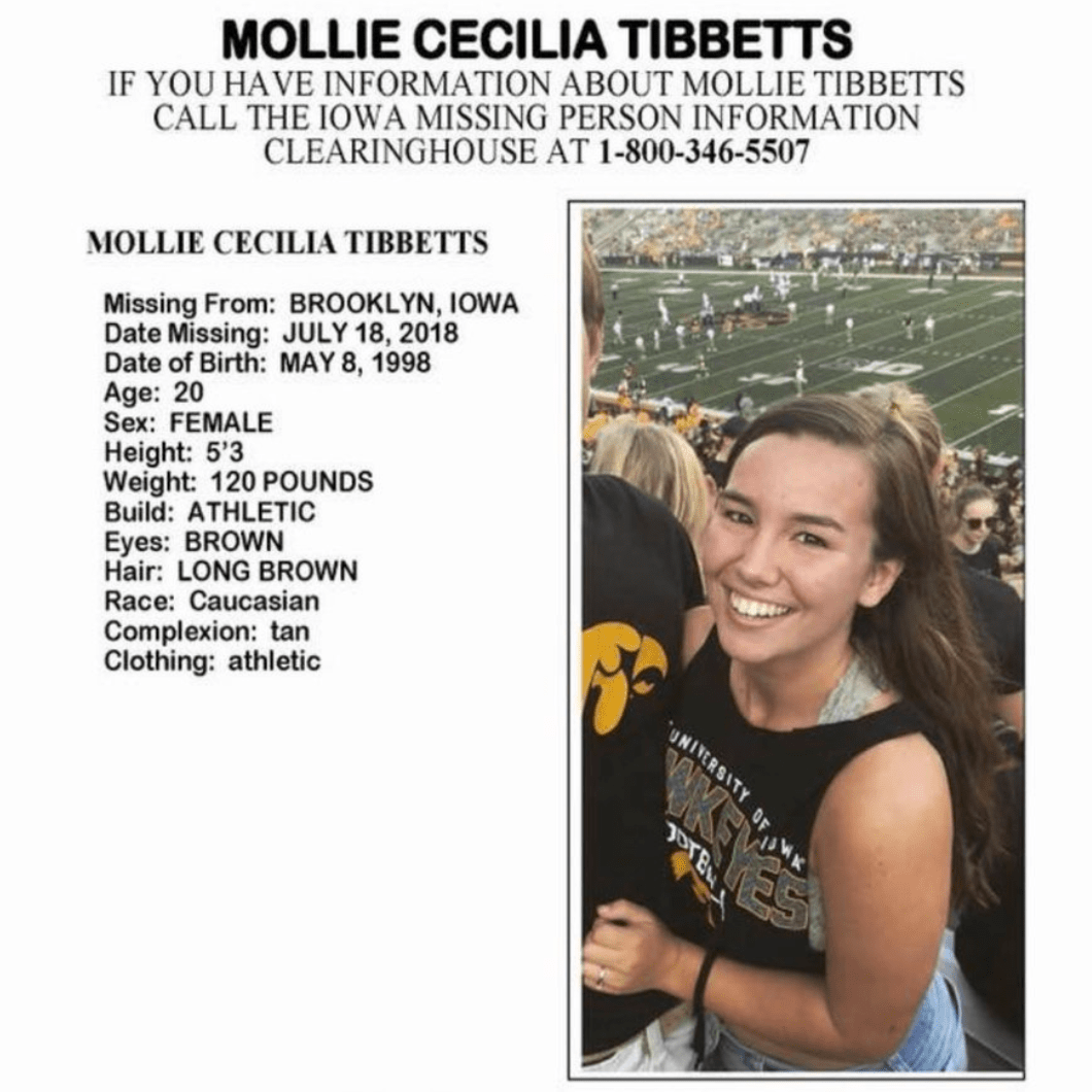 Missing: Molly Tibbitts