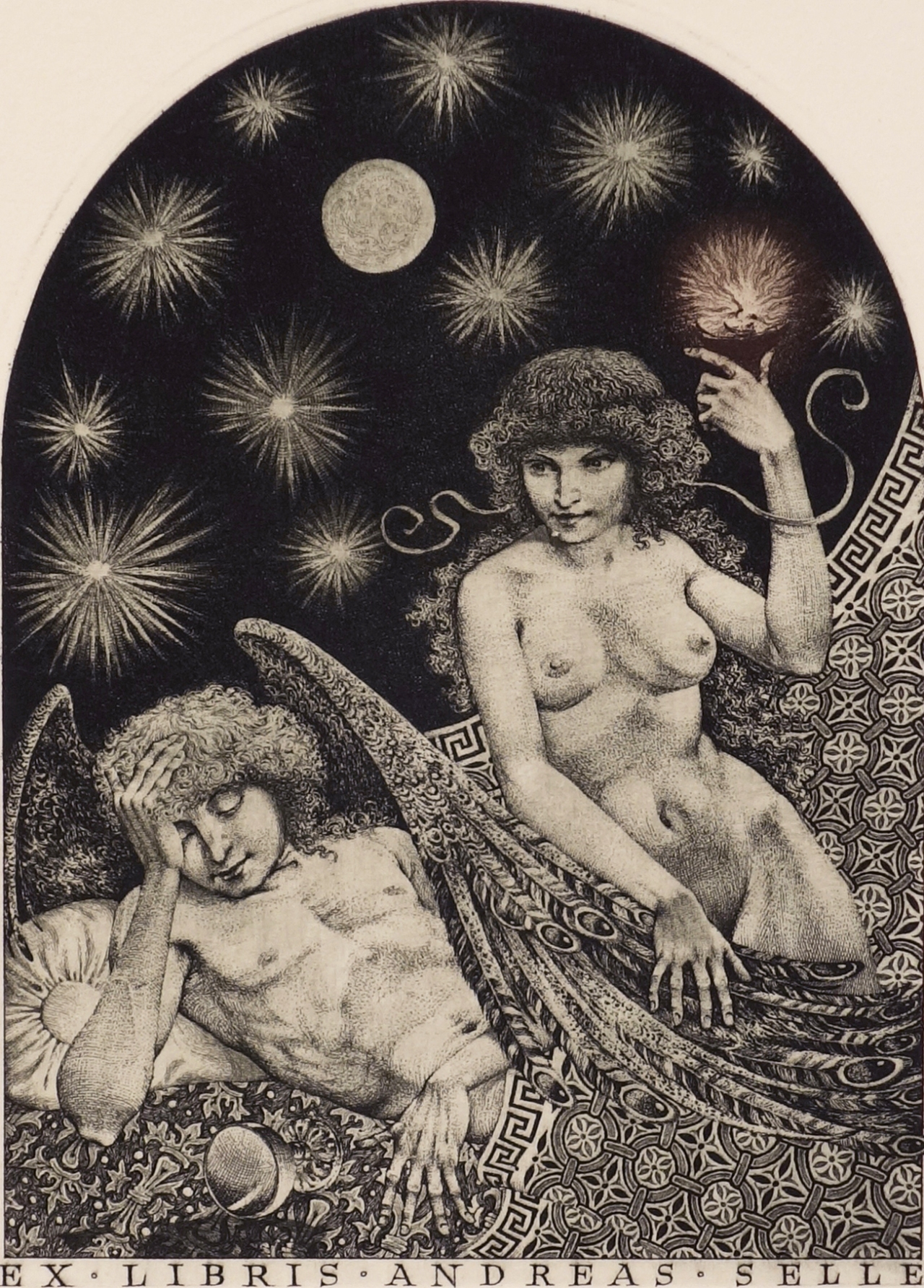 Asteroids of love part 1: Eros and Psyche